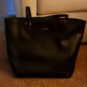 Euc! Vera bradley Morgan leather tote black